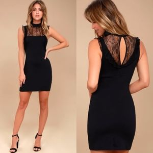 ✨ Free People Beaumont Muse Lace Bodycon Dress ✨